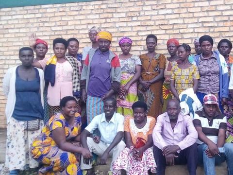 photo of Abishyizehamwe Gitega Group