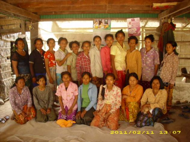 Mrs. Pach Phally Village Bank Group