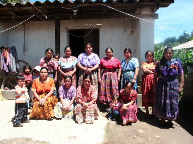 Mujeres De Patachaj Group