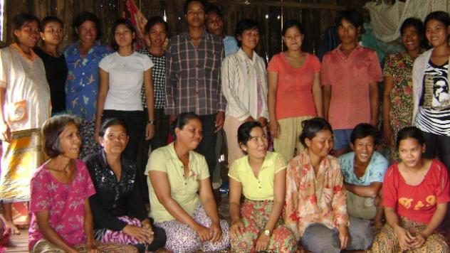 Mrs. Vai Kim Huoch Village Bank Group