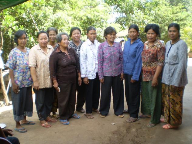 Mrs. Soeurn Choeurn Village Bank Group
