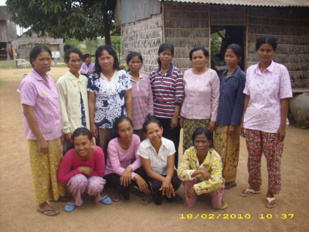 Mrs. Chhong Mam Village Bank Group