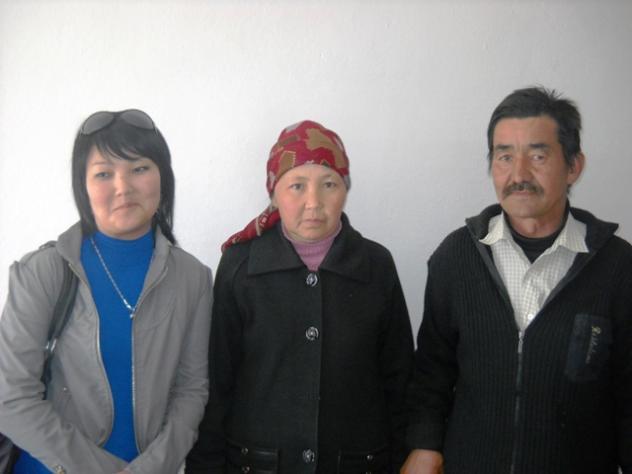 Ainura Kyisaeva's Group