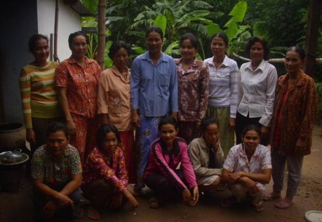 Mrs. Samphos Soen Village Bank Group