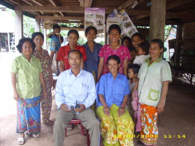 Mrs. Koem Thoen Village Bank Group