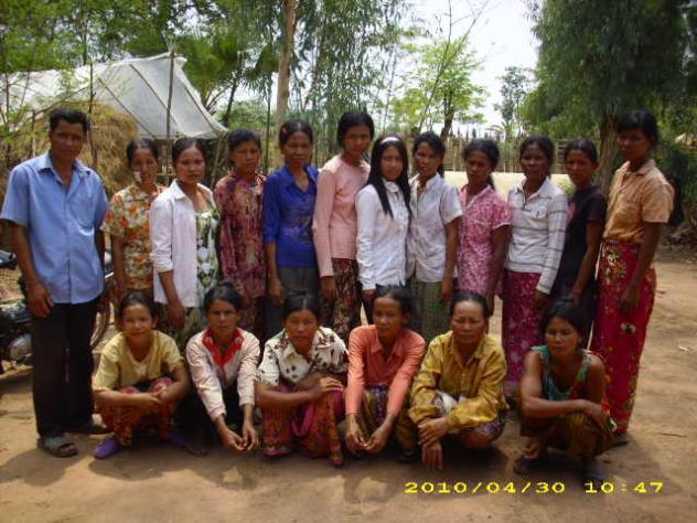 Mrs. Phalla Phon Village Bank Group