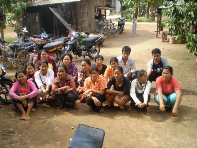 Mrs. Naren Phoung Village Bank Loan Group