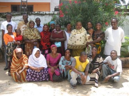 Mwajuma Mohamed's Kanga Group