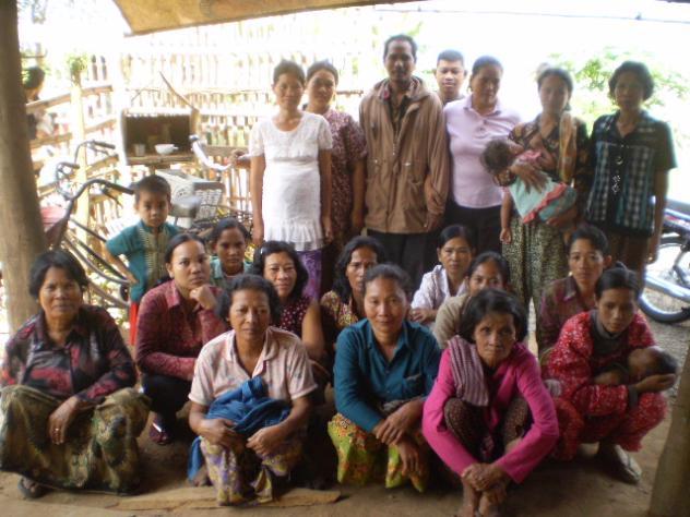 Mrs. Prak Da Village Bank Group