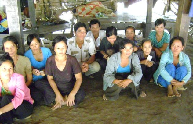 Mrs. Sarom Long Village Bank Group