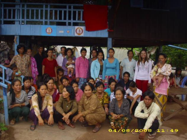 Mrs. Sam On Khat Village Bank Group
