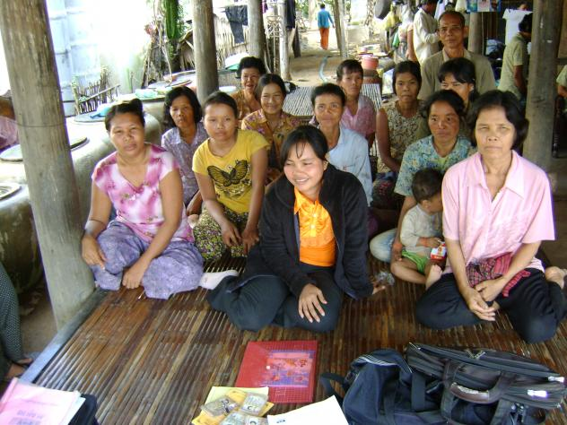 Mrs. Sroeng Sok Village Bank Group