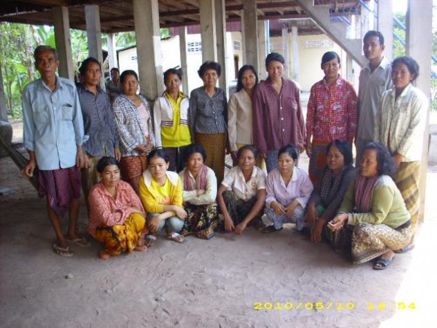 Mrs. Touch Thun Village Bank Group