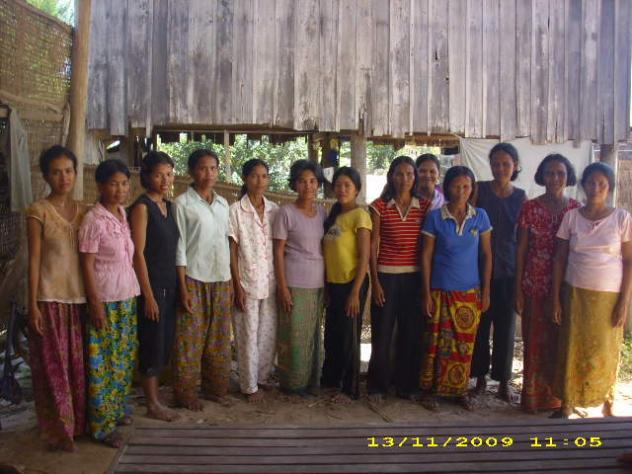 Mrs. Sok Heang Village Bank Group