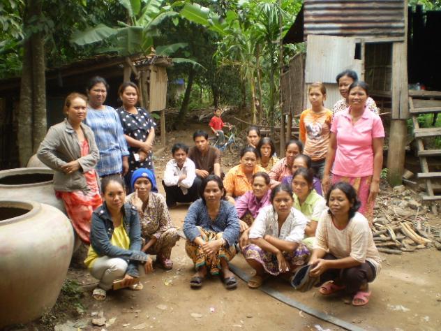 Mrs. Sokheng Toch Village Bank Group