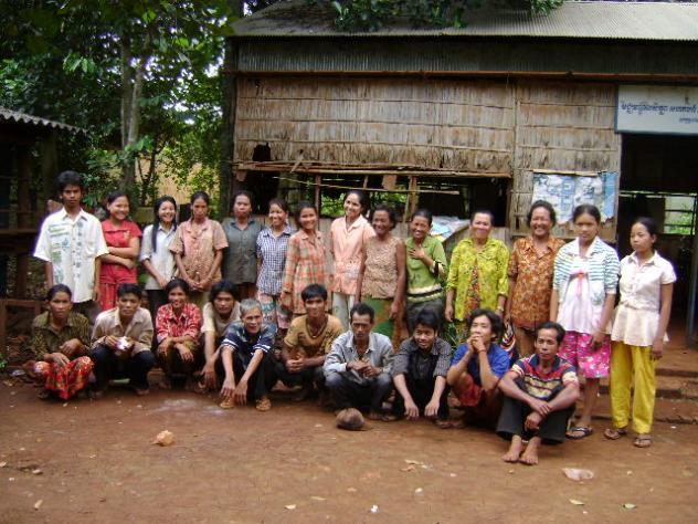 Mr. Choeun Kev Village Bank Group
