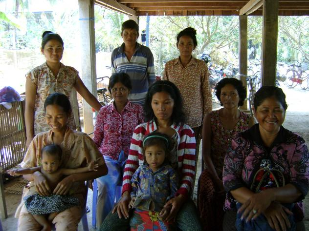 Mrs. Maly Linh Village Bank Group